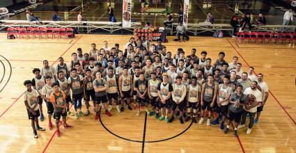Group shot of campers from the 2016 Elite Preview