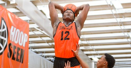 Zion Williamson stands out from day one at adidas Nations with his utter domination en route to 21 points on the scoreboard.