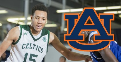 Auburn makes another big time snag as top-50 2018 forward EJ Montgomery commits to Bruce Pearl and his staff.