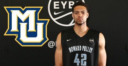 Theo John adds some strength and shot blocking abilities to Marquette as he announced his commitment to the Big East gang today.