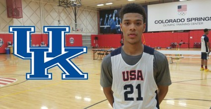 Kentucky lands its guy at the lead guard spot thanks to the commitment of Quade Green.