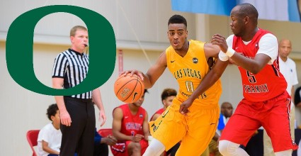 Oregon comes up with a giant commitment as Troy Brown, a 6-foot-6 wing from Las Vegas, gave the Ducks his verbal on Monday.