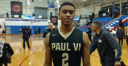 Aaron Thompson shows his value as a lead guard for Pitt next year, leading the slew of standouts from this past weekend's National Hoops Festival.