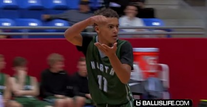 Trae Young kills it