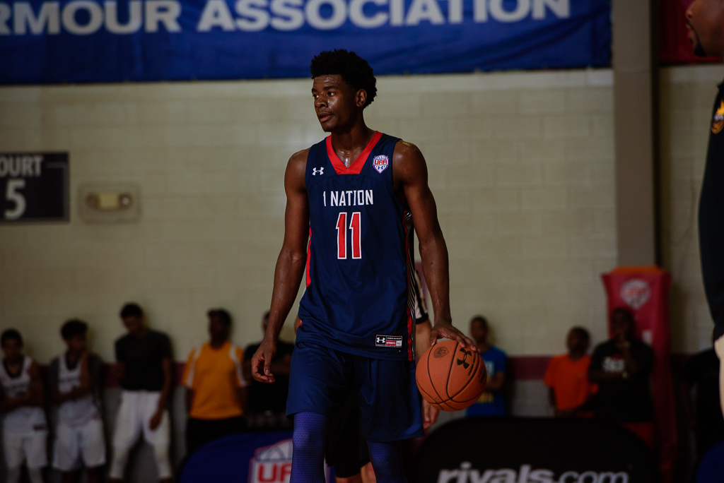 Josh Jackson is off the board to Kansas.