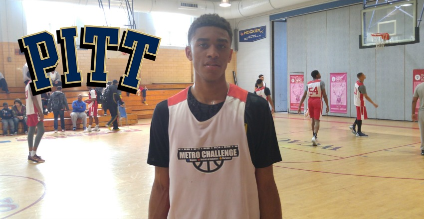 Aaron Thompson commits to Pitt.