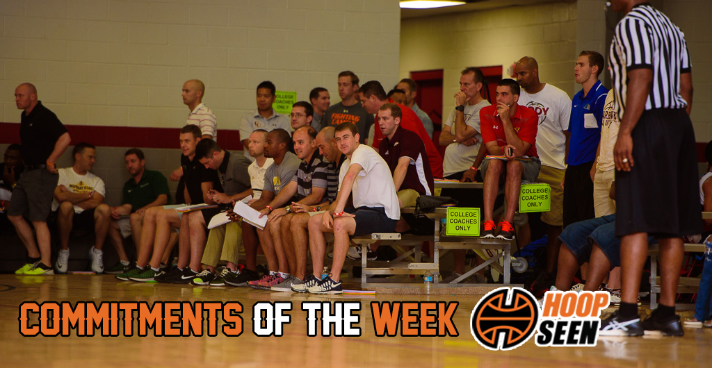 Ohio State and Murray State lead the way with the commitments of the week.
