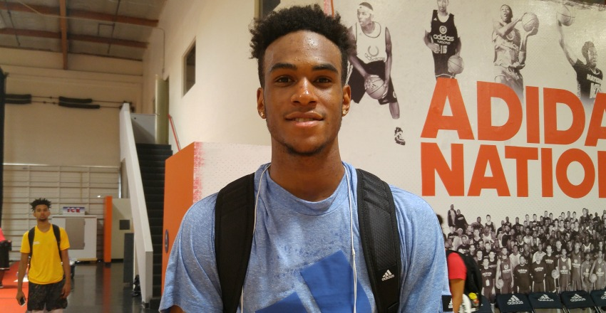 Five schools stand out for O'Shae Brissett as he continues to rework his game and show consistent production on the playing floor.