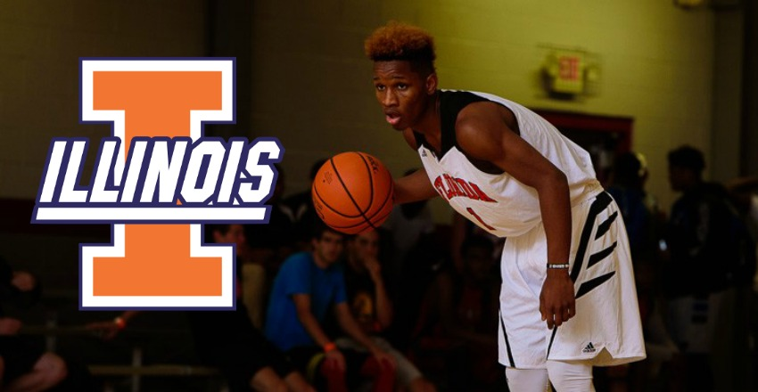 Trent Frazier commits to Illinois.