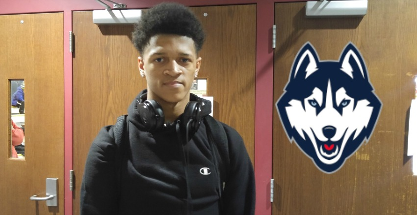 UConn wraps up the commitment of top-60 guard Makai Ashton-Langford.