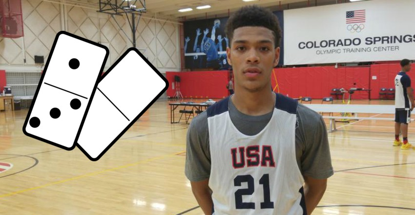 In the first of our Domino Effect, we play what if with Quade Green. The five-star guard commits to Syracuse; what transpires after?