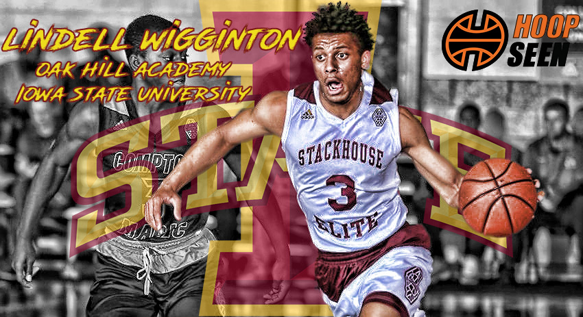 Iowa State finds its third top-125 commitment in Lindell Wigginton.