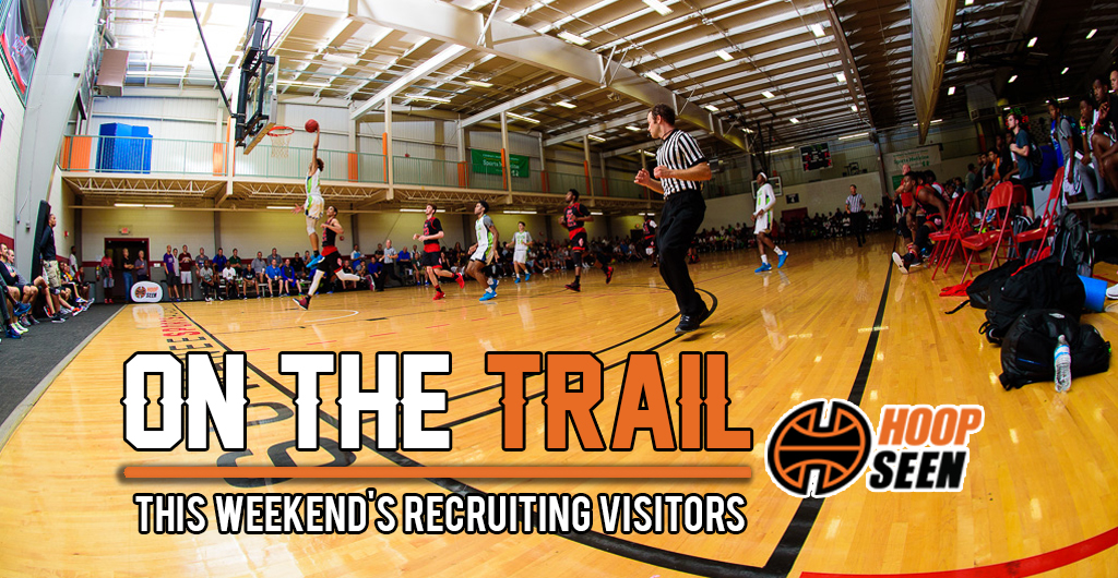 With the college basketball season close to a month away, the recruiting trail never slows down as the likes of Arizona, Oregon & Georgetown host some of their top recruits this weekend, all of which are enclosed in the latest On the Trail series.