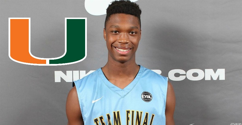 Lonnie Walker makes a surprise commitment by giving his verbal to Miami.