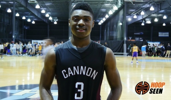 Jairus Hamilton gives the update on his visit to Duke and UNC.
