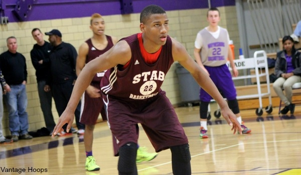 Javin Montgomery-DeLaurier had a big spring on the AAU circuit. Now he is a national name.