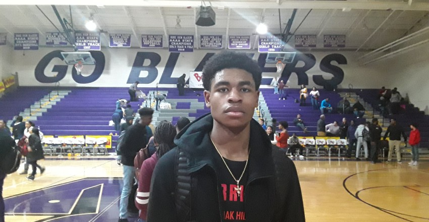 Cam Thomas Oak Hill HoopSeen