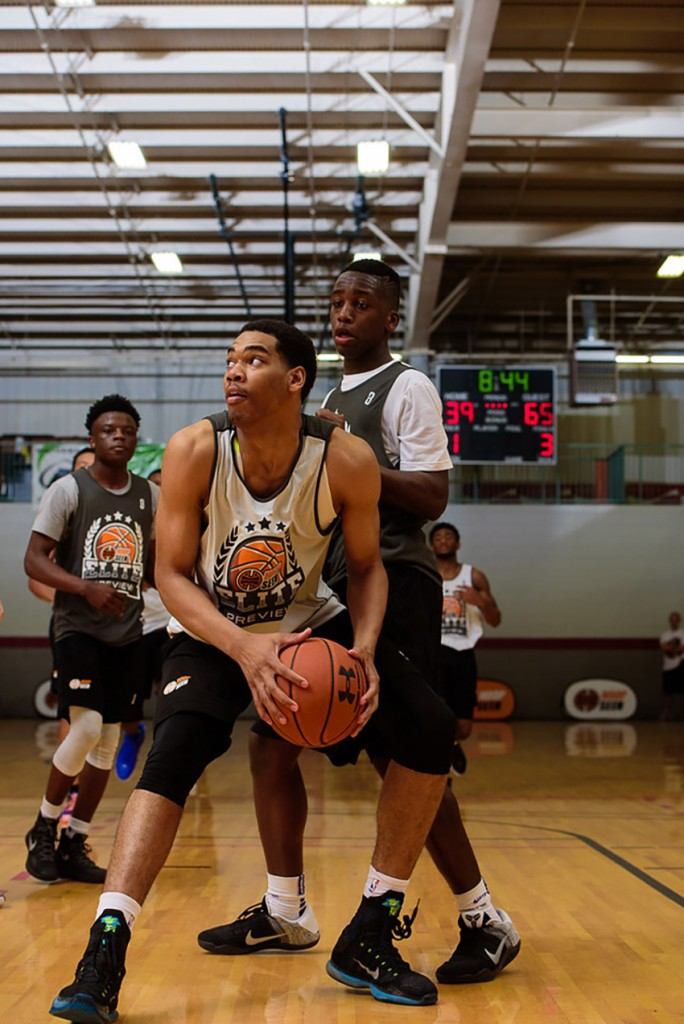 Garrison Brooks post at 2016 Elite Preview