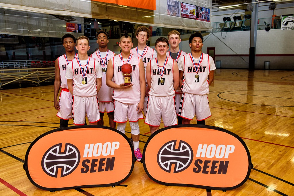 Team Heat champs at the HoopSeen Super Regional