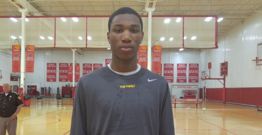Jamal Cain is a lead standout from the first day at the Spiece Run n Slam in Fort Wayne.