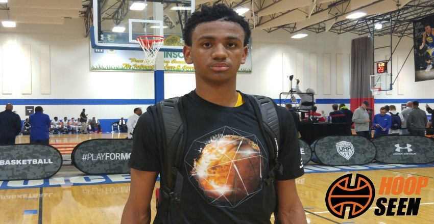 Nickeil Alexander-Walker puts on a passing displays as he continues to see his recruitment and game hit the next level.