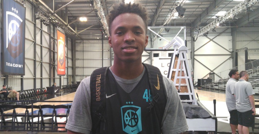 Seven schools stand out for top-75 wing Kimani Lawrence as he continues to better his game and round out his skillset.