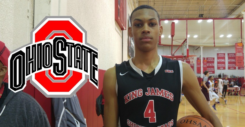 Darius Bazley and Justin Ahrens commit to Ohio State.