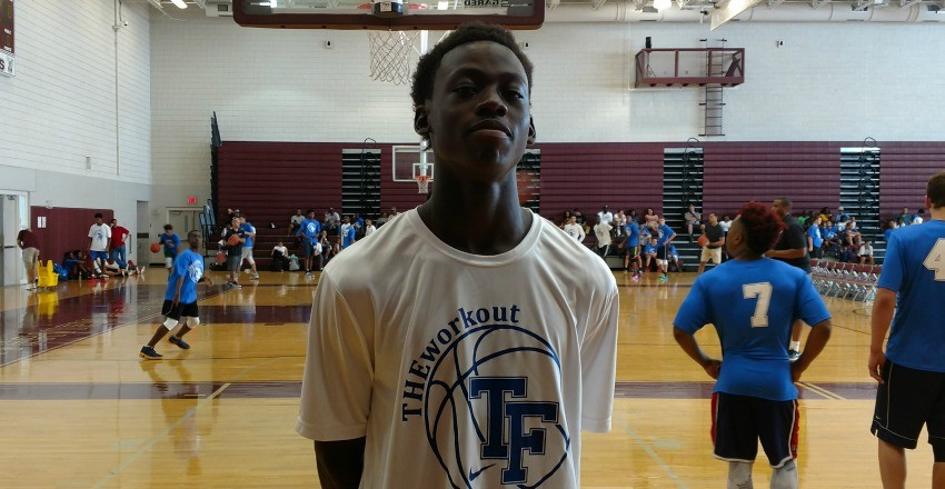 Malachi Wideman begins his story as Vernon Carey & Balsa Koprivica standout at The Workout.