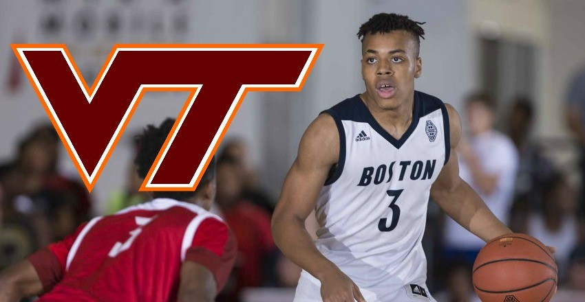 Wabissa Bede, a top-75 recruit from Cushing Academy, gives his verbal commitment to Buzz Williams and his Virginia Tech basketball program.