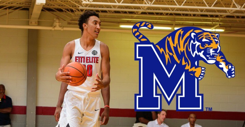 Memphis picks up the verbal commitment of the one of the best passers from the 2017 class, David Nickelberry.