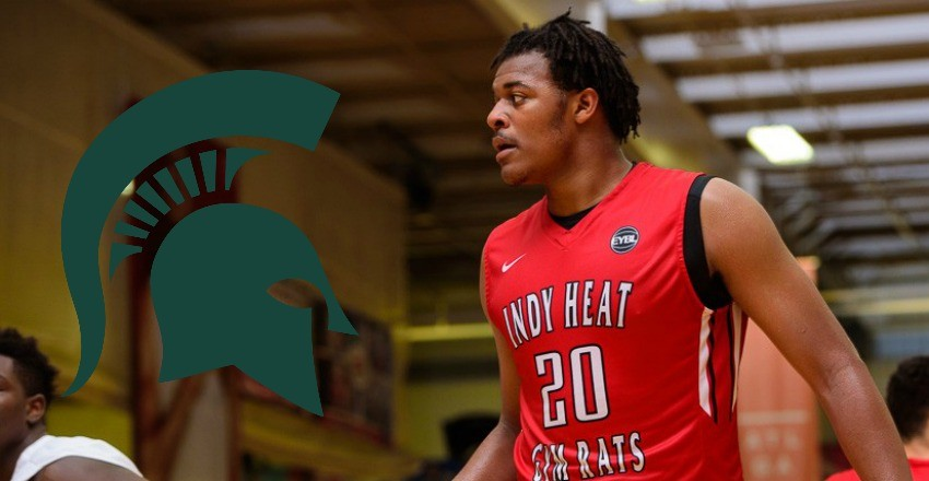 Xavier TIllman, a top-125 big man from the 2017 class, gives his verbal commitment to Michigan State.
