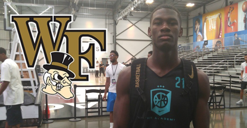 Wake Forest landed a giant commitment on Sunday, coming in the form of top-25 guard Chaundee Brown.