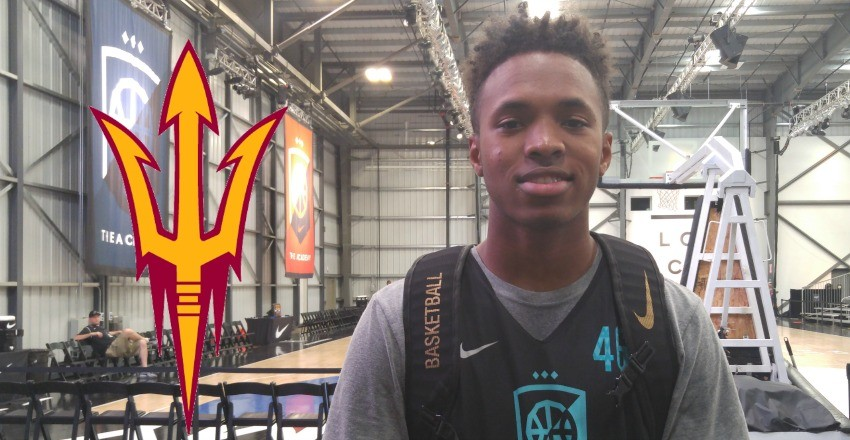 Arizona State snaps up its jewel to its 2017 class coming in the form of Kimani Lawrence.