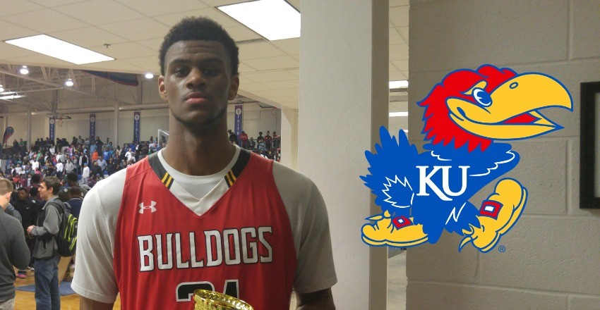 Billy Preston becomes the latest five-star recruit to commit to Kansas, giving the Jayhawks its second top-100 commitment for the fall.