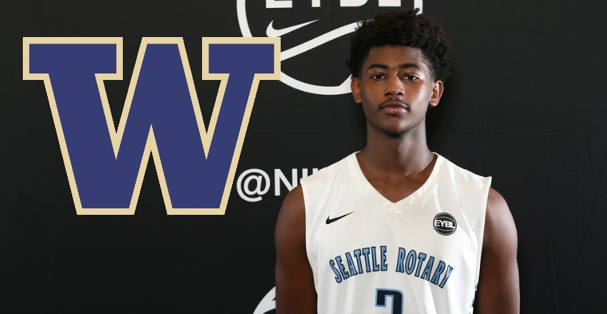 Washington keeps Daejon Davis home as the top-60 guard commits to the Pac 12 program.