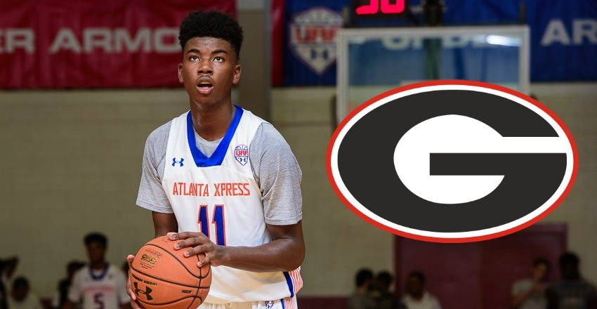 Georgia makes its first strike in the 2017 class as they land top-50 recruit and in-state small forward Rayshaun Hammonds.