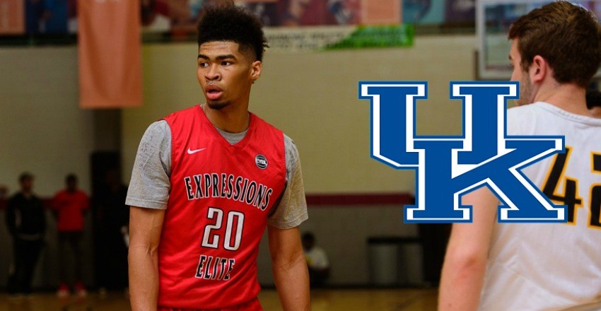 Kentucky makes its first pounce in the 2017 class landing five-star big man Nick Richards.