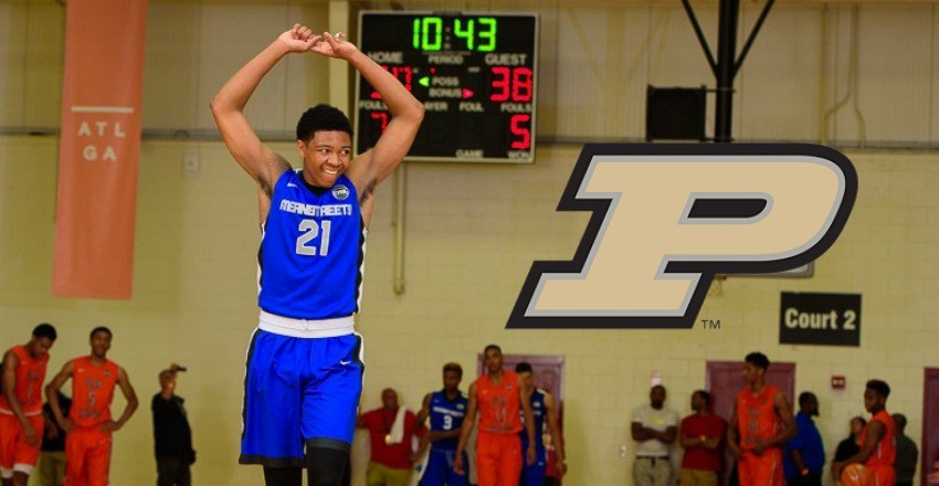 Purdue puts a face to its 2017 class thanks to the commitment of Nojel Eastern.
