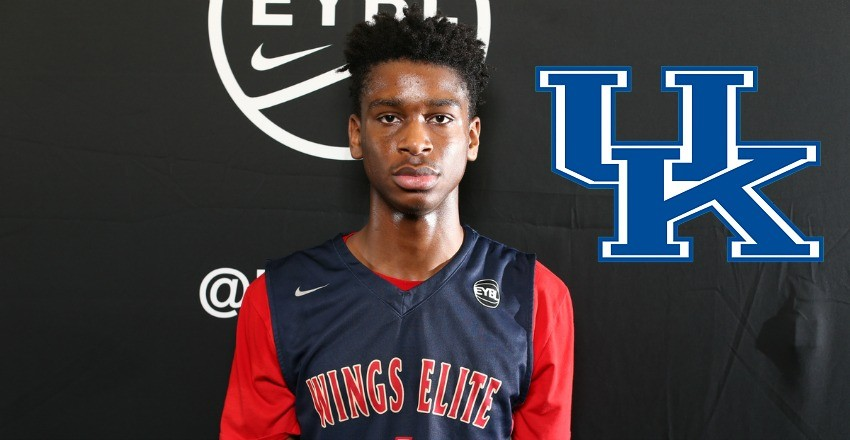 Kentucky kicks off its 2017 guard class thanks to the commitment and signing from Shai Alexander, a top-60 recruit out of Canada.