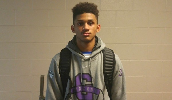 Prentiss Hubb gives an update on his college recruitment.