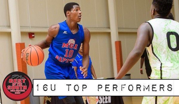 Best of the South Top Performers