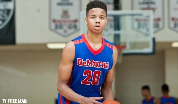 Markelle FUltz Dematha Basketball Team