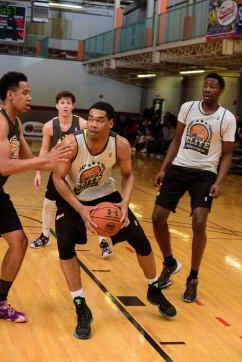 Texas A&M gets an official visit from Garrison Brooks.