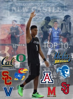Trevon Duval down to a top 10.